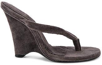Yeezy SEASON 8 Terry Cloth Wedge Thong Sandal