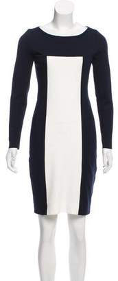 Akris Punto Long Sleeve Bodycon Dress