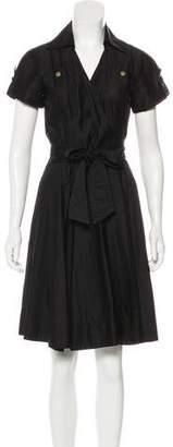 Diane von Furstenberg Aria Wrap Knee--Length Dress