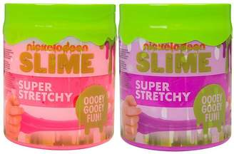Nickelodeon Super Stretchy Slime Duo Pack – Pink And Purple