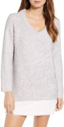Lou & Grey Claire Shine Metallic Sweater