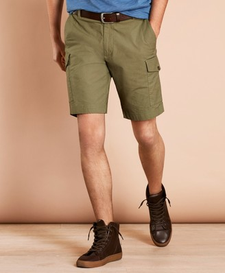 Brooks Brothers Cotton Ripstop Cargo Shorts