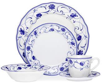 Noritake Rhapsody Blue 20 Piece Dinner Set