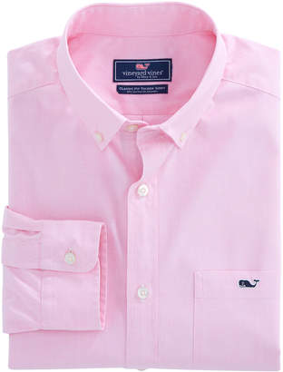 Vineyard Vines Long-Sleeve Classic End On End Stretch Tucker Shirt