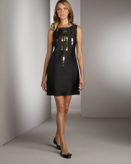 Tory Burch Giles Studded Minidress