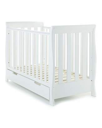 O Baby Obaby Stamford Mini Sleigh Cot Bed