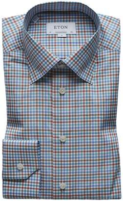 Men's Multi-Check Cotton Dress Shirt