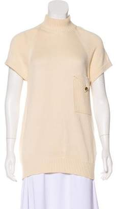 Chanel Short Sleeve Knit Top