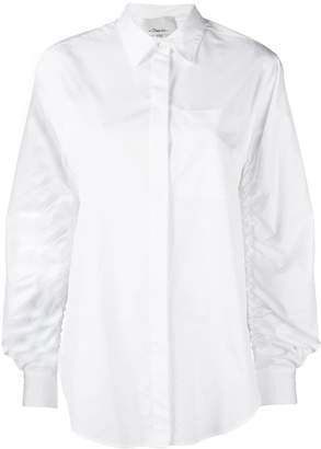 3.1 Phillip Lim ruched long-sleeve shirt