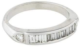 Ring Platinum Diamond Band