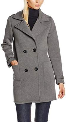 School Rag Women's Mless Coat, Grey Heather