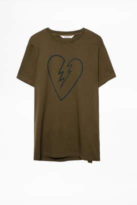 Zadig & Voltaire Tibo Heart T-Shirt