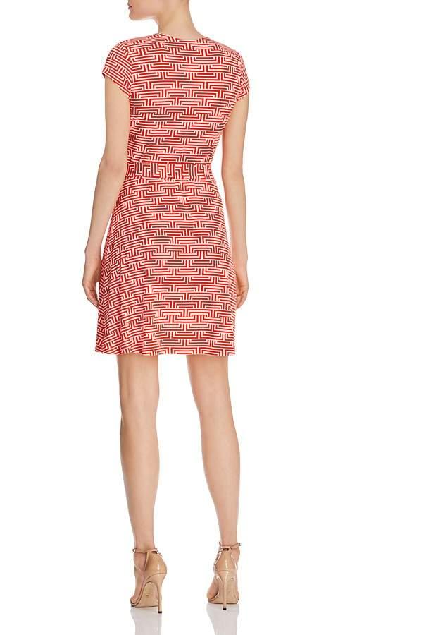 Leota Perfect Wrap Cap Sleeve Dress 2