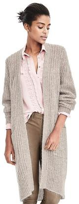 Long Open Front Cardigan $168 thestylecure.com