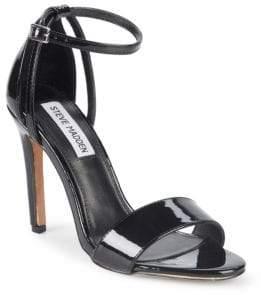 c876a70deda Steve Madden Black Strap Women s Sandals - ShopStyle