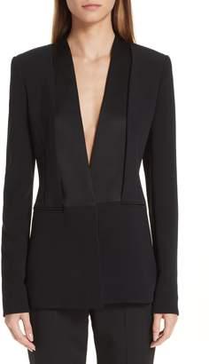 CUSHNIE Shawl Collar Blazer