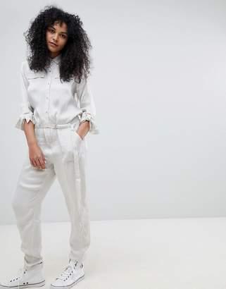 Calvin Klein Della Sateen Sheen Boilersuit