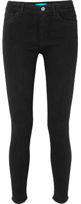 MiH Jeans Bridge High-rise Skinny Jeans - Black