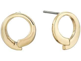 Lauren Ralph Lauren Metal Stud Earrings