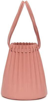 Mansur Gavriel Lamb Pleated Bucket Bag - Blush