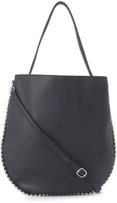 Alexander Wang Roxy Hobo Black Leather Shoulder Bag