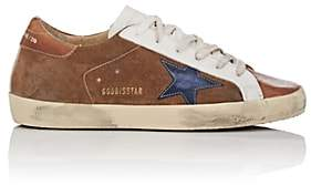Golden Goose Women's Superstar Suede & Leather Sneakers-Camel