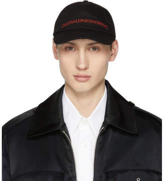 Calvin Klein Black Logo Cap