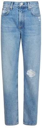 Rag & Bone Distressed Cigarette Jeans