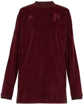 adidas BY POGBA Long-sleeve velvet sweater
