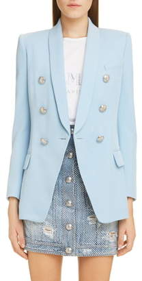 4519d48a Balmain Double Breasted Jacket - ShopStyle