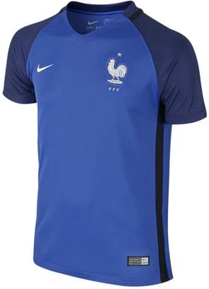 Nike France Home Soccer Jersey UEFA Euro 2016 YOUTH. (YL)