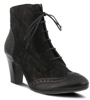 Spring Step Gem Lace-Up Bootie