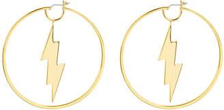 Henri Bendel Lenox Lightning Hoop Earring