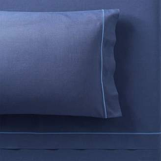 Pottery Barn Teen Classic Oxford Sheet Set, Extra Pillowcases, Set of 2, Navy