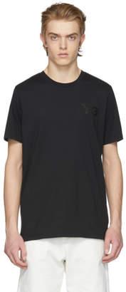 Y-3 Black Classic Logo T-Shirt