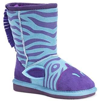Muk Luks Kids' Animal Zebra Pull-on Boot