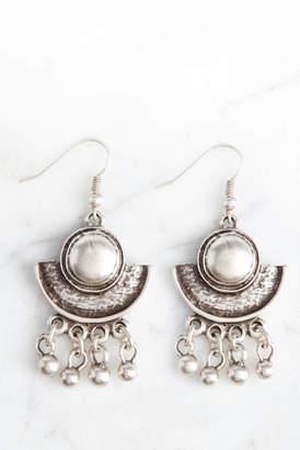 Chanour Pewter Boho Earrings