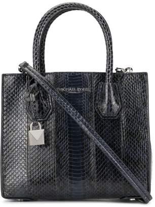 ea93597c5f9b MICHAEL Michael Kors Mercer snakeskin crossbody bag