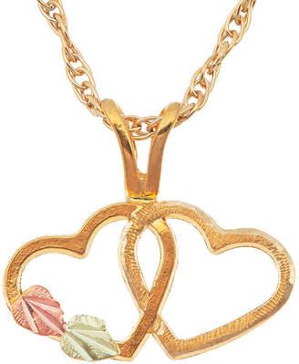 LANDSTROM'S BLACK HILLS GOLD Landstroms Black Hills Gold 10K Gold Pendant Necklace
