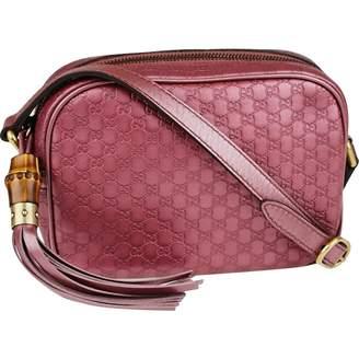 Gucci Pink Leather Handbag