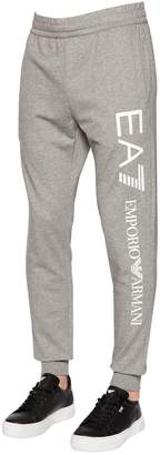 Emporio Armani Ea7 Train Logo Series Cotton Sweatpants