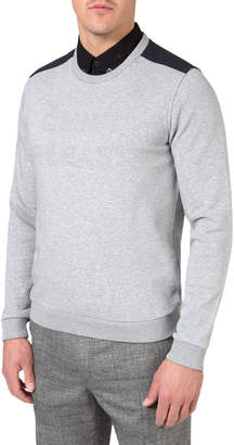 J. Lindeberg Golf Men's Bespoken Crew Tech Fleece Top