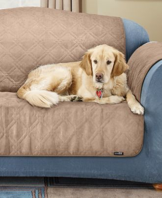 Sure Fit Pet Loveseat Slipcover Throw