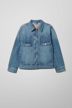 Weekday Sip Indigo Denim Jacket - Blue
