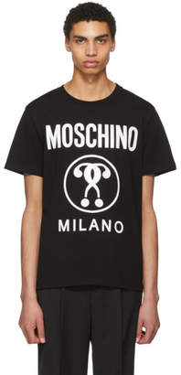 Moschino Black Logo T-Shirt
