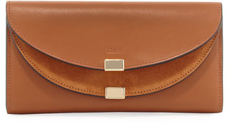 Chloé Chloe Georgia Smooth Leather Wallet