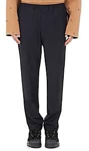 Acne Studios Men's Ari Wool-Mohair Slim Drawstring Trousers - Navy