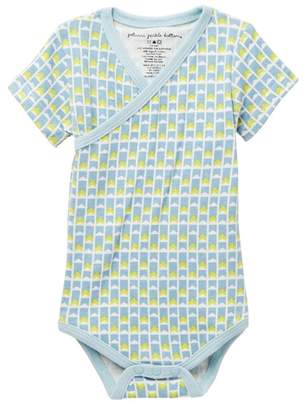 Petunia Pickle Bottom Organic Cotton Angles & Arrows Short Sleeve Bodysuit (Baby Boys)