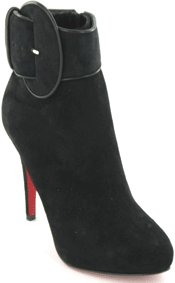 Christian Louboutin Suede Ankle Boot
