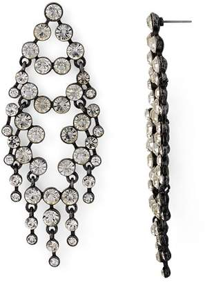 Aqua Crystal Chandelier Drop Earrings - 100% Exclusive